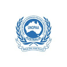 United Nations and Overseas Policing Association of Australia (UNOPAA) Logo